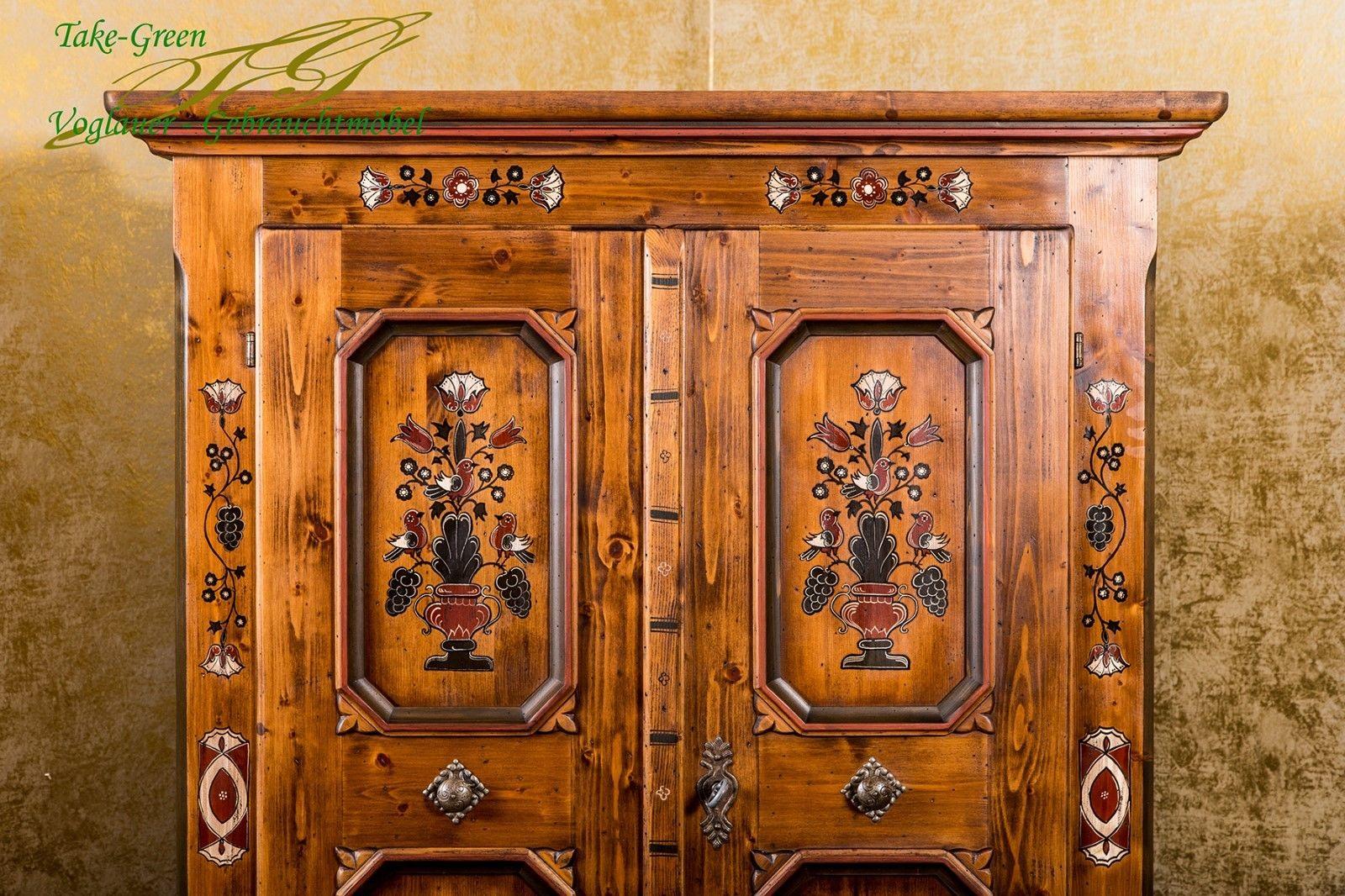 Anno 1700 Braun Antik Kleiderschrank Alpenland Mobel