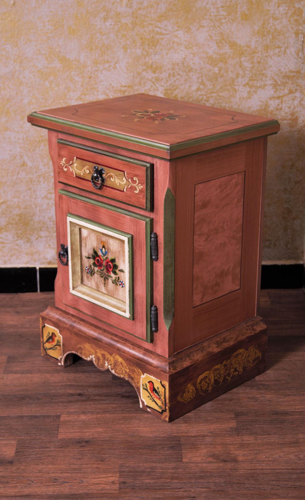 anno 1800 altrosa nachttisch landhaus set alpenland m bel. Black Bedroom Furniture Sets. Home Design Ideas