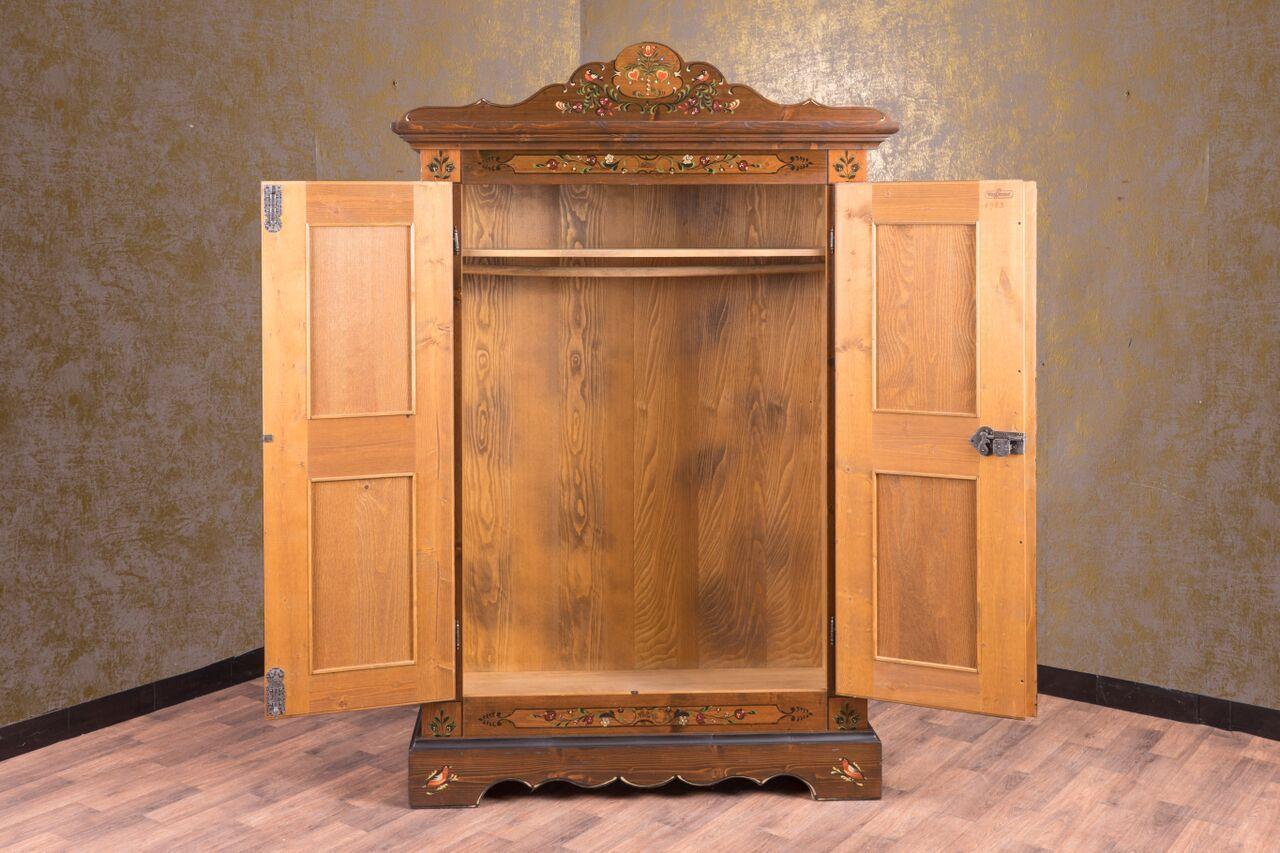 Anno 1800 Braun Antik Kleiderschrank - Alpenland Möbel