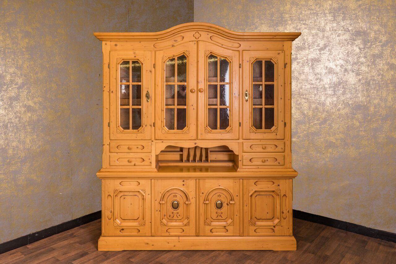 Buffetschrank Anno 1800 Goldton Antik Alpenland Möbel